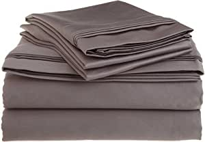 4 piece sheet set 600 thread count egyptian. Black Bedroom Furniture Sets. Home Design Ideas