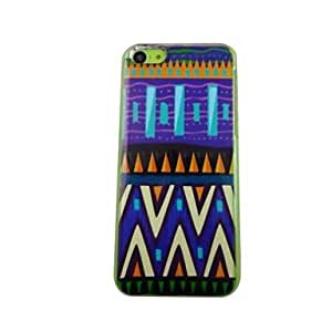 JJE The Beautiful National Pattern Pattern PC Back Case for iPhone 5C
