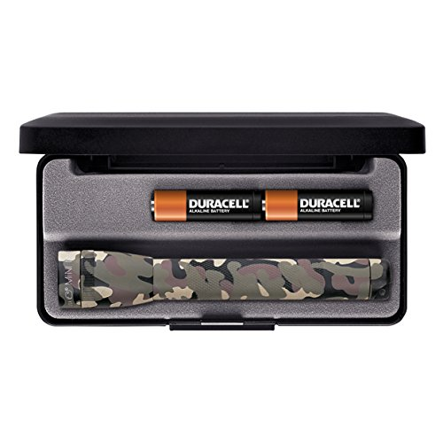 Maglite Mini Incandescent 2-Cell AA Flashlight in Presentation Box, Camo]()