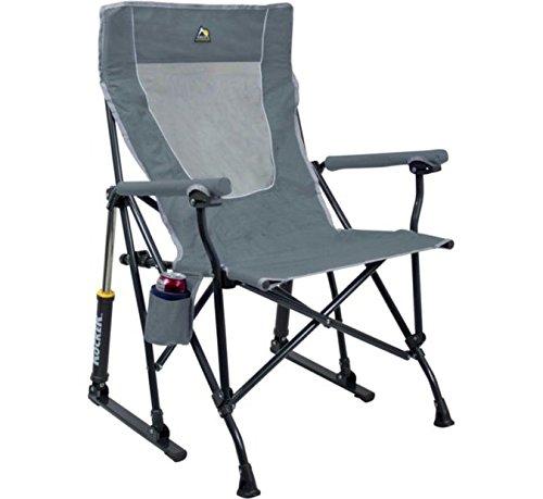GCI Outdoor RoadTrip Rocker Chair|Mercury Grey