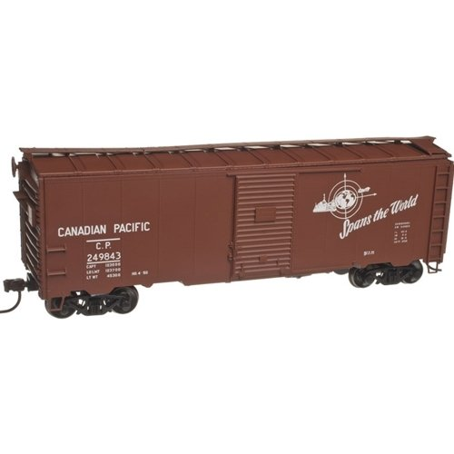 Trainman HO 1937 AAR 40' Box Car Kit Canadian Pacific (CP) #249935 ()
