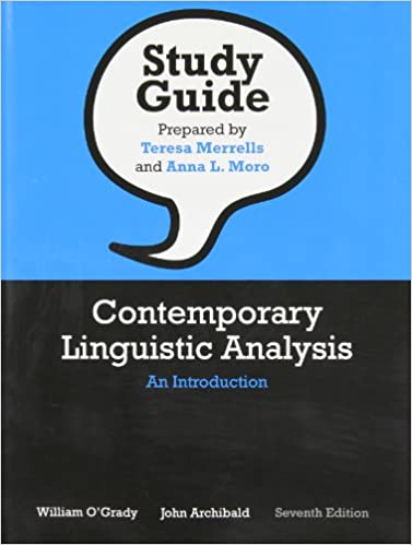 Amazon study guide for contemporary linguistic analysis an study guide for contemporary linguistic analysis an introduction seventh edition 7th edition fandeluxe Choice Image