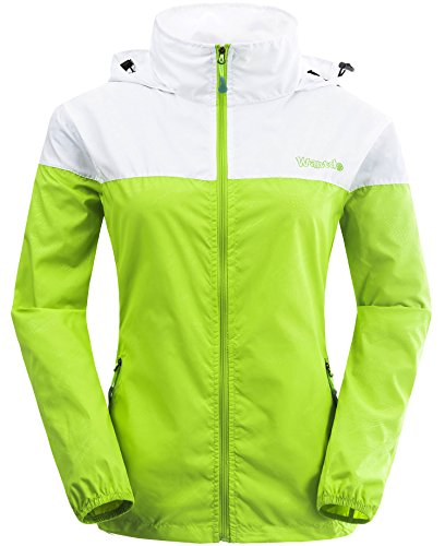 Wantdo Women's Packable UV Protect Quick Dry Outdoor Windproof Lightweight Skin Jacket