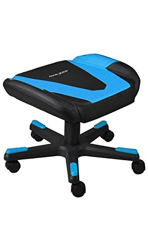 DXRacer FR/FX0/NB Racing Adjustable Storage Ottoman Footstool Chair Gaming  Furniture (Black