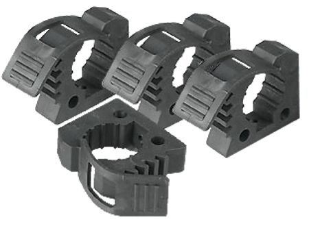 BILLET4X4 Quick FIST Rubber Clamps for Off-Road Vehicles - 4 Pack - Mounting Shovel Brackets