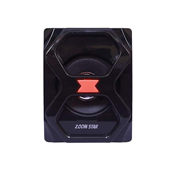 Zoom Star Bahubali 25W PMPO with FM, USB and AUX 4.1 Smart Bluetooth SPE