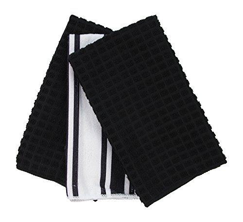 Black and White Striped Towels Amazoncom