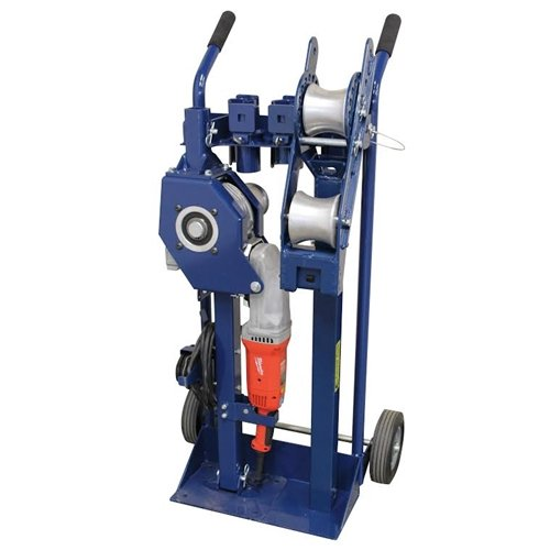 Current Tools 66 High Speed Cable Puller with 6,000 lb. Capacity on Mobile Cart by Current Tools