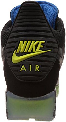 Nike Heren Air Max 90 Sneakerboot Ijs Boot Zwart / Donker Essen / Foto Blauw / Zwart