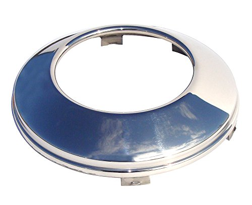 RealWheels RW622OU2 Universal Stainless Steel Front Baby Moon (Open Center)