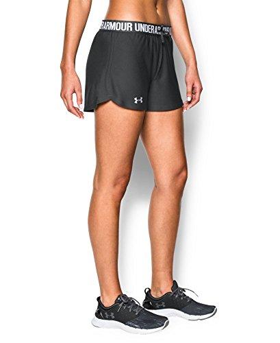 Under Armour Women's Play Up Shorts, Phantom Gray (003), Large