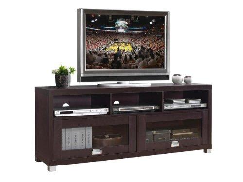 Techni Mobili Durbin TV Cabinet, Cappuccino for TVs up to 55