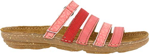 Naturalista Mixed Sandales Élastique El Coral Multi Femme N327 Multicolore Leather torcal UqPCwP