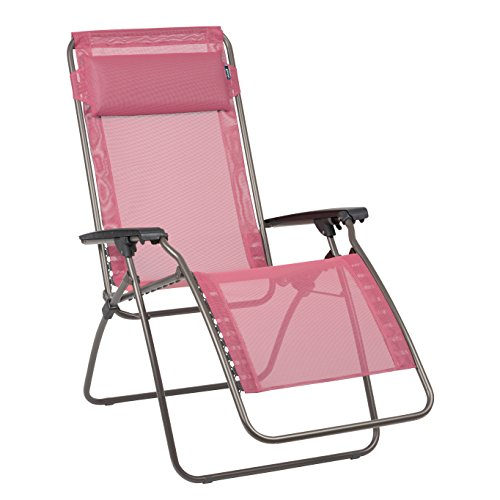Lafuma Camping Chair - Lafuma R Clip Zero Gravity Recliner – Anti Gravity Chair – Outdoor Lounge Chair- Rhodo Batyline Fabric