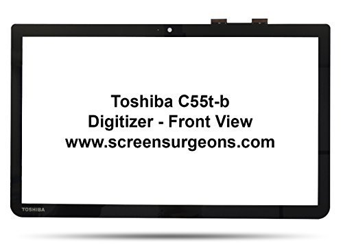 Toshiba C55t-b L55t-b S55t-b Touchscreen Replacement Digitizer by Toshiba
