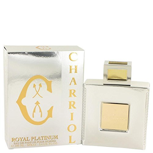 Price comparison product image Charriol Royal Platinum by Charriol Eau De Parfum Spray 3.4 oz for Men - 100% Authentic