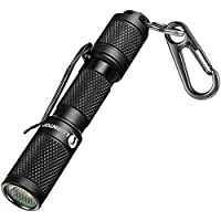 LED Keychain Mini Flashlight - LUMINTOP Tool AAA, small Flashlight 2019 Recommend Bright Light up to 110LM with latest…