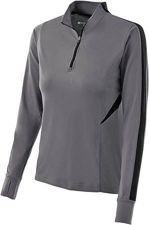 Ladies Torsion Training Top - Graphite/Black - X-Large
