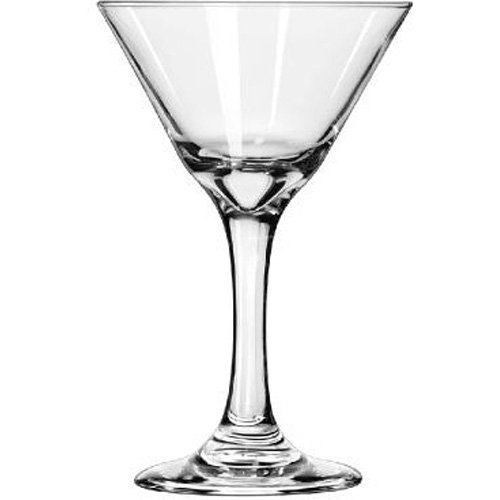 LIB3733 - Embassy Cocktail Glasses, Martini, 7.5 Oz, 6 3/8quot; Tall by Libbey