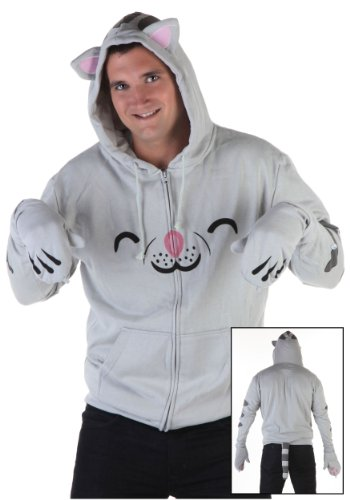 Soft Kitty Men's Hoodie (X-Large)