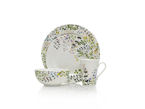 Mikasa 5202644 Tivoli Garden Dinnerware Set (Service For 4) ()