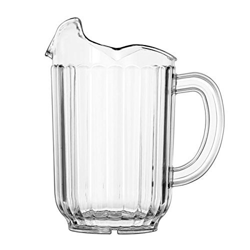 VOLLRATH COMPANY INC., TRAEX PITCHER TUFFEX 3 LIP CLEAR 60 1-12 COU, Manufacturer Part Number: 6010-13 (Company Vollrath Number)