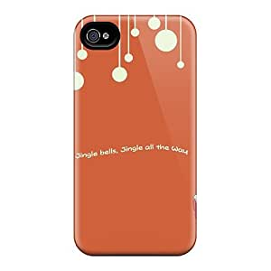 Premium TFz36447aNNm Cases With Scratch-resistant/ Anime Girl And Christmas Tree Cases Covers For Iphone 6