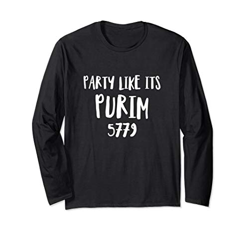 Party Like It's Purim 2019 Shirt Queen Esther Costume Party