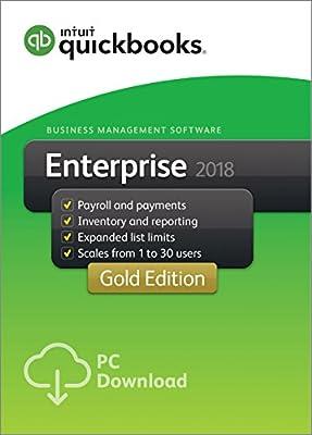 QuickBooks Desktop Enterprise 2018