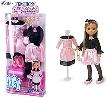 Amazon.es: FS Famosa - Ropa para la muñeca Nancy, Fashion Set Stylish Cocktail (70005410) 165