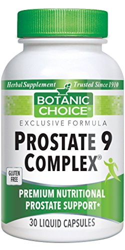 Botanic Choice Prostate 9 Herbal Prostate Support Formula, 30 Liquid Capsules Review