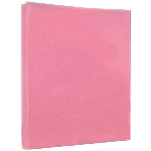 JAM PAPER Translucent Vellum 30lb Paper - 8.5 x 11 - Blush Pink - 100 Sheets/Pack (Pink Translucent Vellum Envelope)