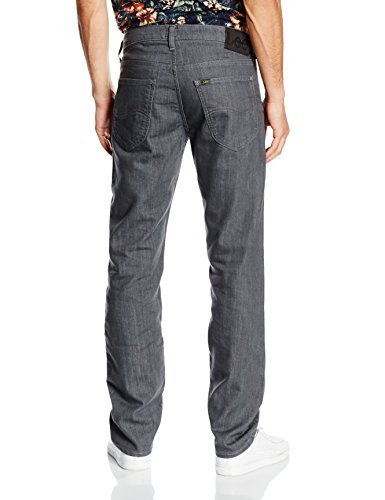 Grey Hombre Gris Lee Fly Daren Clean Zip Jeans wSn01xAq