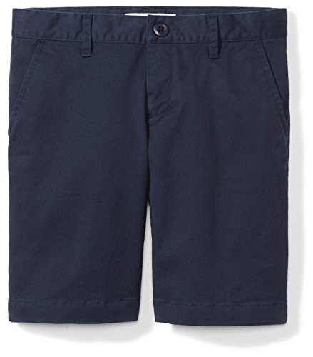 Price comparison product image Amazon Essentials Girls' Uniform Short, Navy Blazer, 10