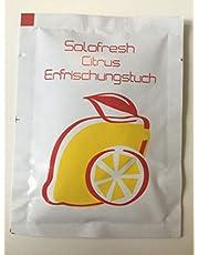 Solofresh Citrus-verfrissingsdoekjes hygiënische doekjes per stuk verpakt 250 stuks