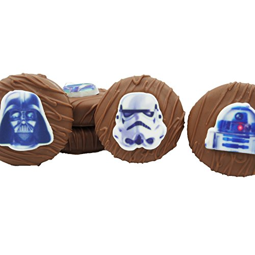 Philadelphia Candies Licensed Star Wars Milk Chocolate Covered OREO Cookies, 8 oz (Boba Fett, Darth Vader, R2-D2, (Star Wars Candy)