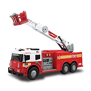 "Daron FDNY 24"" Fire Truck w/ Lights & Sounds"