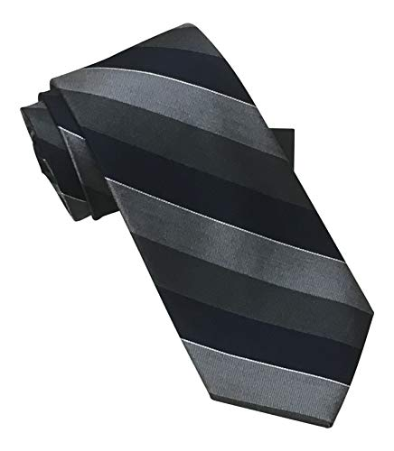 - Jos. A. Bank Signature Collection Shades of Gray Striped Tie