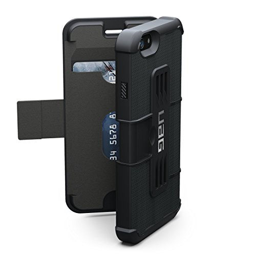 Custodia UAG per iPhone 6 / iPhone 6S in Composito Leggerissimo Custodia per Cellulare Conforme agli Standard Militari Anticaduta, Nero