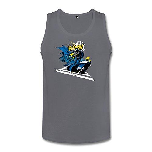 [ZHENGAIMEI Customize Men Batman Funny Organic Cotton Tank Top T-shirt] (The Riddler Suit)