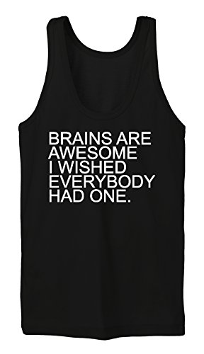 Brains Are Awesome Tanktop Girls Noir