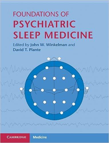 Foundations of Psychiatric Sleep Medicine (Cambridge Medicine (Hardcover))