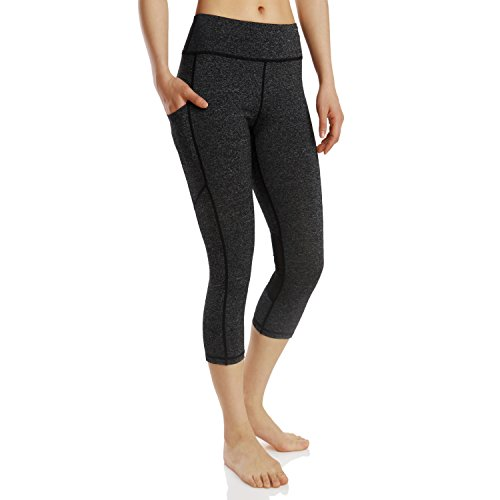 Pnfly Lady's Tight Pocket Exercise 7 Points Yoga Pants Running Pants
