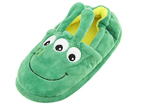 Toddler Baby Girls Cute Cartoon Animal Slippers Thickened Thermal Cozy Funny Ankle Boots Antiskid Slip-On Winter Indoor Slippers Halloween Footwear Shoes