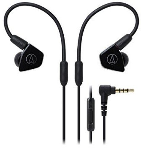 Audio-Technica ATH-LS50iSBK In-Ear Monitor Headphones with I