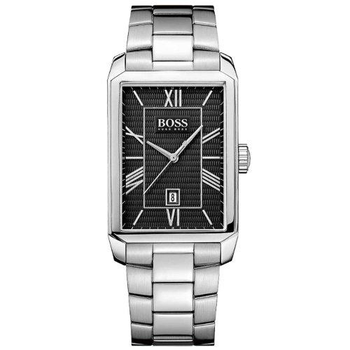 Hugo Boss 1512970 30mm Silver Steel Bracelet & Case Mineral Men's Watch