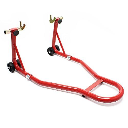 Support de moto pour Roue arrière Pied de montage Support de roue Aide au Montage Arrière hot sale