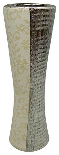 D'Lusso Designs D700-55 Gabriella Collection Thirteen Inch Vase (Floral Ewer)