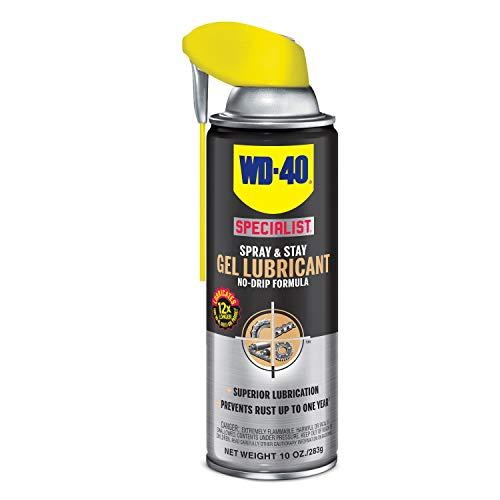WD40 Company 300103 Specialist Gel Lube Spray & Stay - 10 oz.