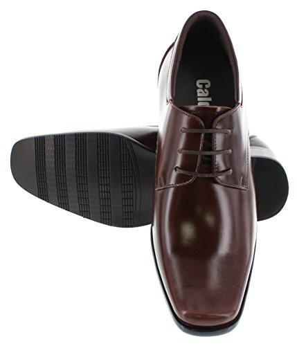 K-CALDEN 56550-8,13 (3,2)-Tappetto cm, altezza aumentare ascensore Shoes-Scarpe da donna, colore: marrone